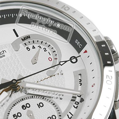 watch silver Quartz Chronograph