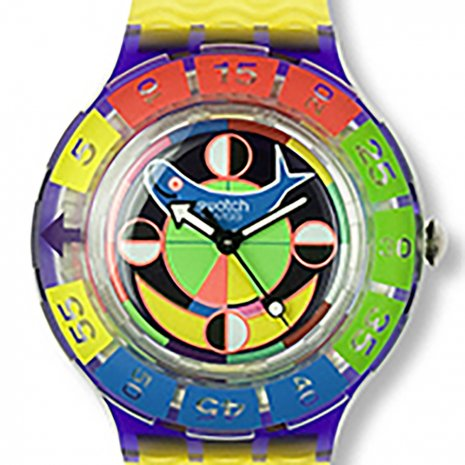 Swatch Color Wheel Ring Accessory