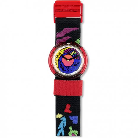 Swatch Colorstory watch