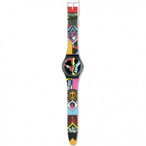 Swatch Coloured Love watch