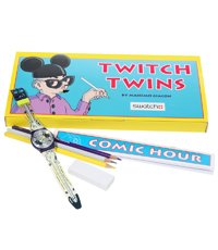 GN168PACK Comic Hour Drawing Set (Twitch Twins) 33.9mm