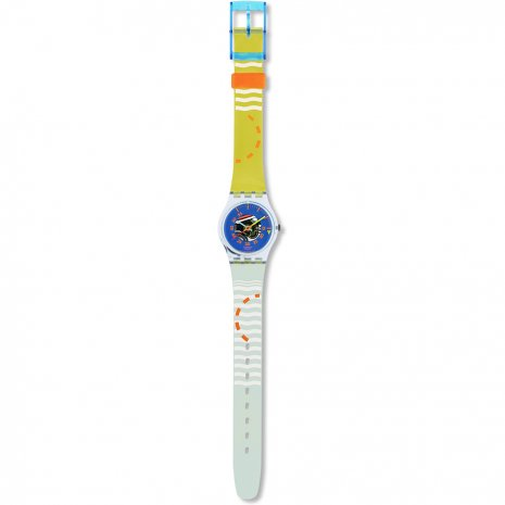 Swatch Coral Beach watch