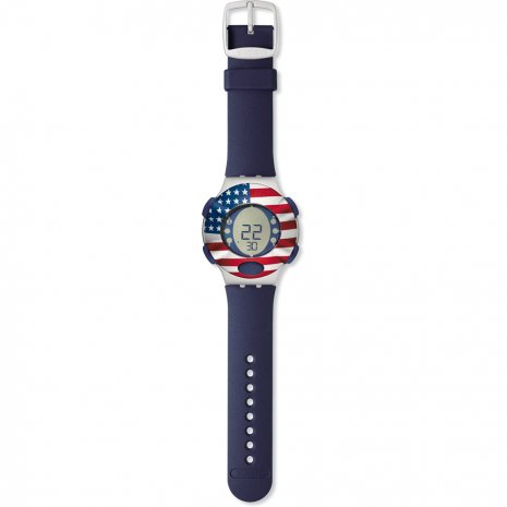 Swatch Country .Beat USA watch