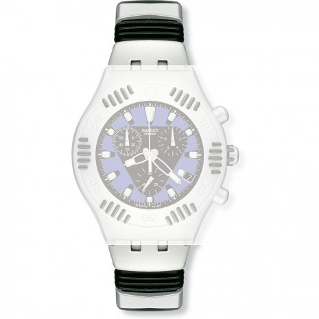 Swatch YBS4003AG Crestless Wave Strap