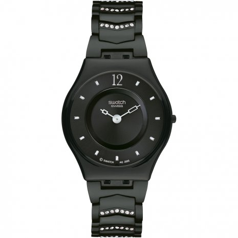 Swatch Cristal Row Black watch