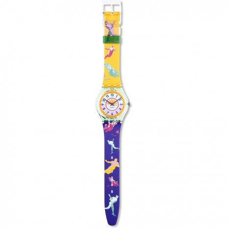 Swatch Curling watch