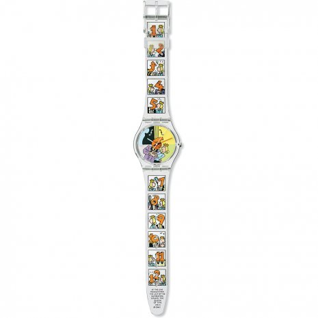 Swatch Dia Animado watch