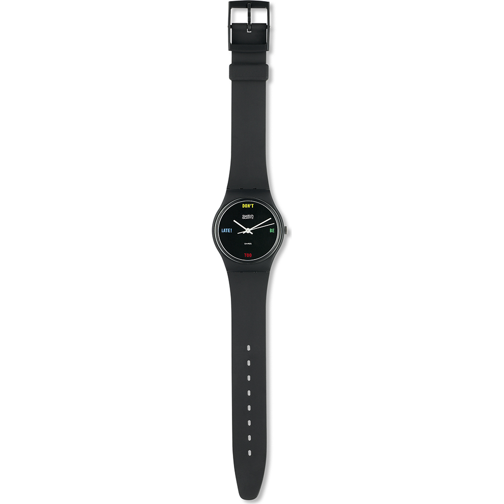 orologio e00f6 4c302 Swatch GA100 watch - Don't Be Too Late