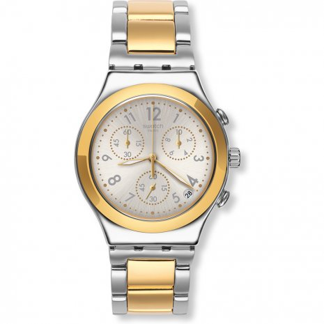 Swatch Dreamnight Golden watch