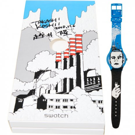 Swatch Electricity Man watch