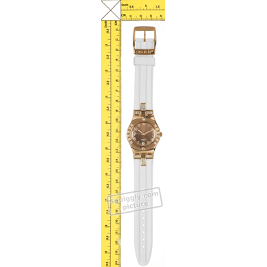 Swatch watch Rose Gold