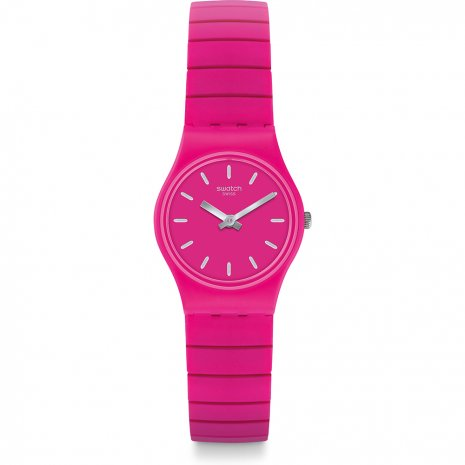 Swatch Flexipink watch