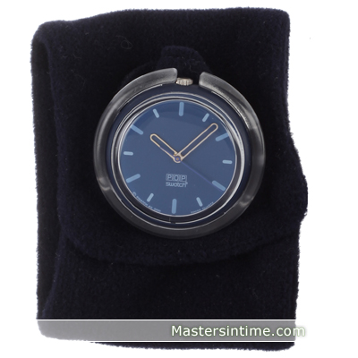 watch blue Quartz Swiss