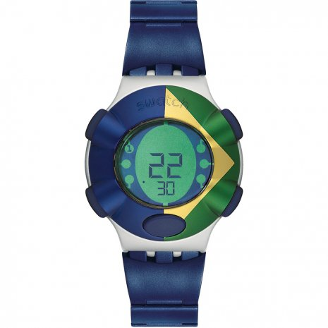 Swatch Floating Dot (Brazil Banner) watch