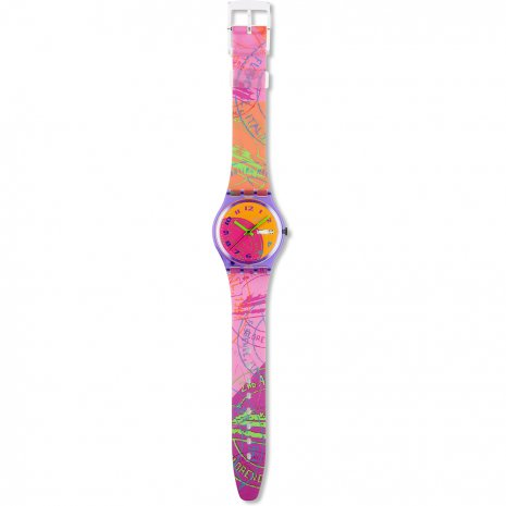 Swatch Fluo Seal watch