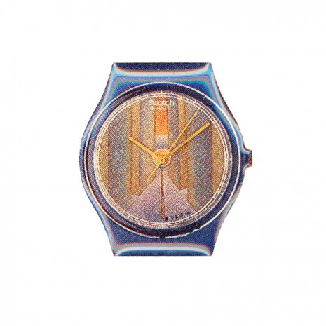 Swatch Folon Swatch Pin Perspective Accessory