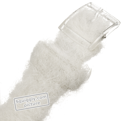 Baby Seal watch with faux white fur strap Fall Winter Collection Swatch
