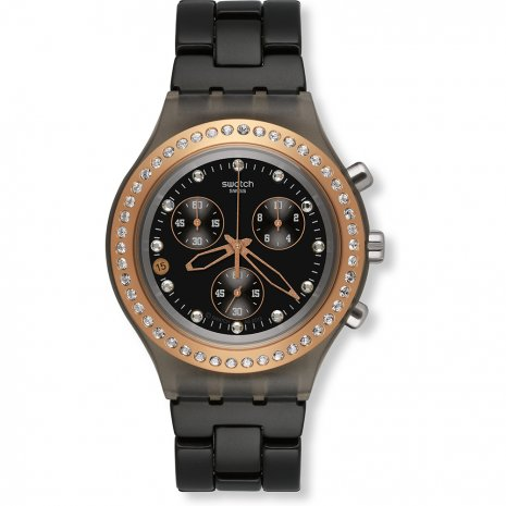 Swatch Full-Blooded Black watch