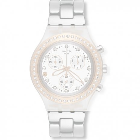 Swatch SVCK4067AG Full-Blooded Rose Gold Strap