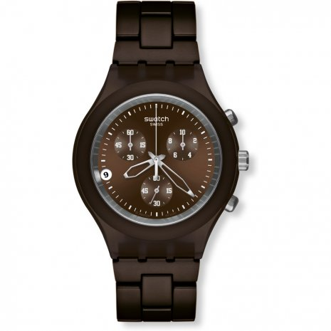 Swatch Full-Blooded Smokey Brown watch