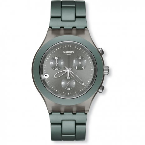 Swatch Full Blooded Smokey Grey watch