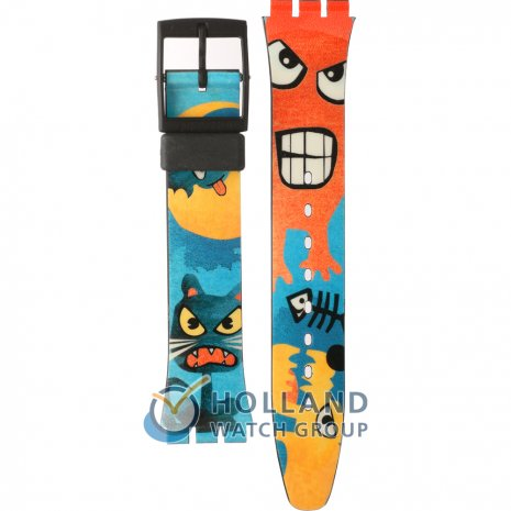 Swatch GB230 Bizar World Strap