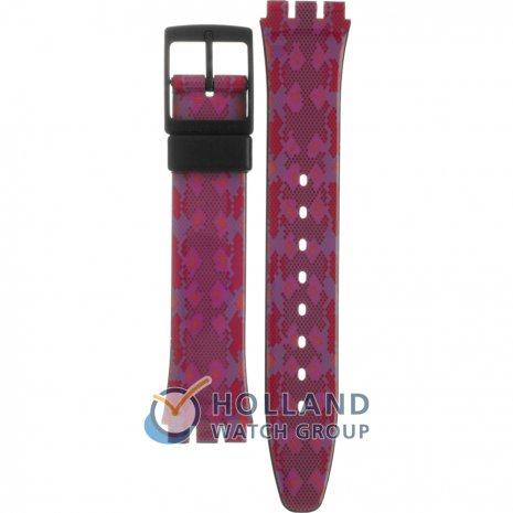 Swatch GB255 Snaky Pink Strap