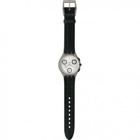 Swatch Giornotte Brown watch