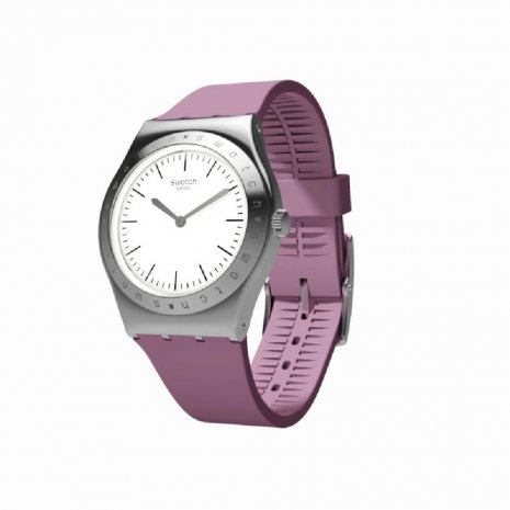 Swatch watch silver