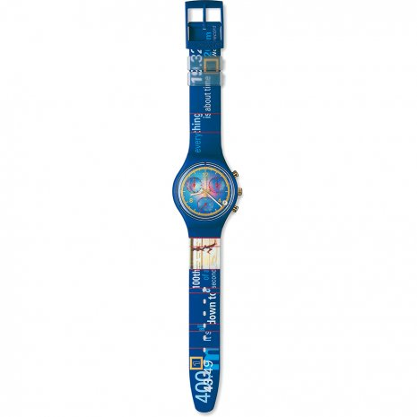 Swatch Gold Medal watch