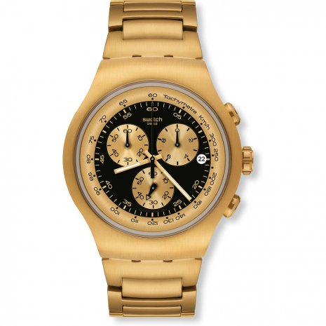 Swatch Golden Block Black watch