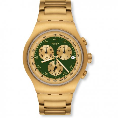 Swatch Golden Block Green watch