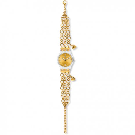 Swatch Golden Curl watch