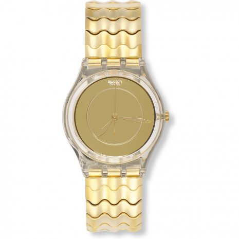 Swatch Golden Wave watch