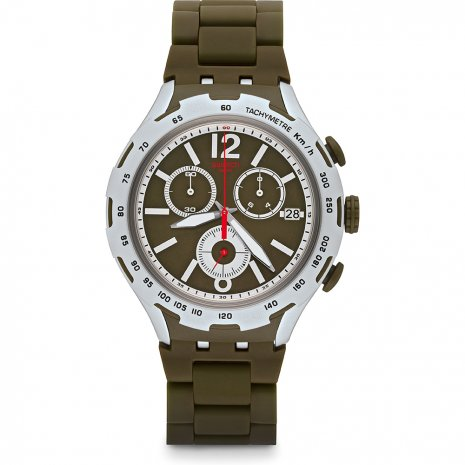 Swatch Green Attack watch