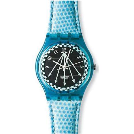 Swatch Happy Blue watch