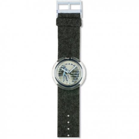 Swatch Happy Skiing watch