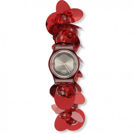Swatch Hippy Love Red watch