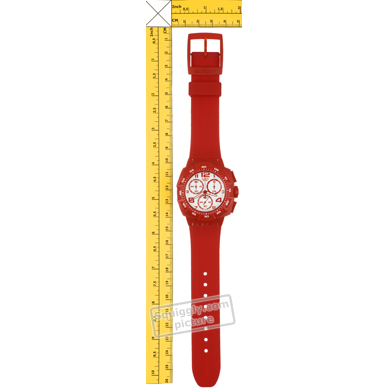 Swatch watch red