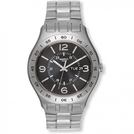 Swatch In A Dark Grey Mode watch