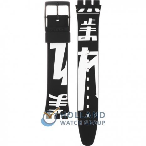 Swatch GB279 Japan Road Strap
