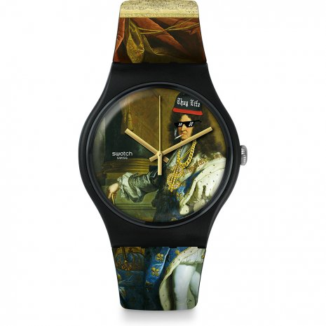 Swatch Leroicestmoi watch
