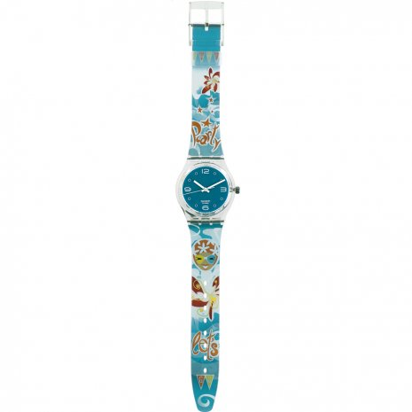 Swatch Lets Go Party (loomi) watch