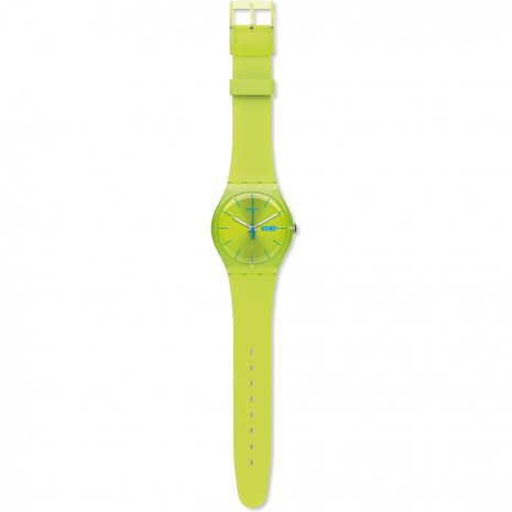 Swatch Lime Green watch