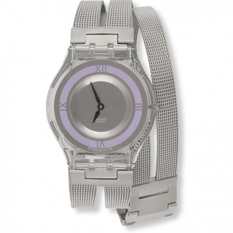 Swatch Little While (Purple) Large watch