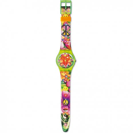 Swatch Love, Peace And Happiness watch
