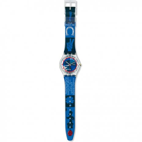Swatch Lucky 7 watch
