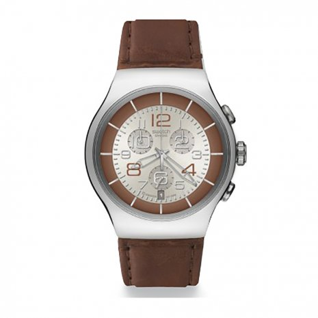 Swatch Massive Bronze watch