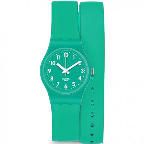 Swatch Mint  Leave watch