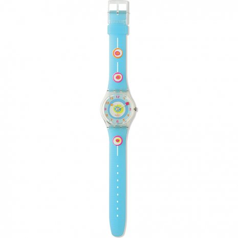 Swatch Minty Mouthful watch
